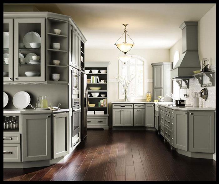 Gri mutfak dolabı örnekleri