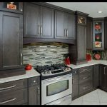 Kahverengii mutfak tasarımları