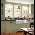 Açık yeşil mutfak tasarımları