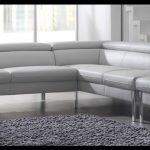 Beyaz deri köşe koltuk modeli