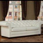 Klasik beyaz deri koltuk modelleri