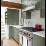 Modern yeşil mutfak tasarımları