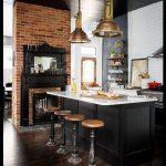 Otantik mutfak dekorasyonu
