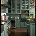 Yeşil mutfak dolabı örnekleri