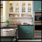 Yeşil mutfak dolabı tasarımları