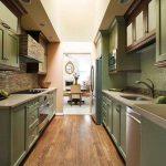 Yeşil mutfak modelleri