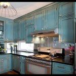 Mavi mutfak resimleri