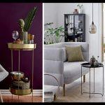 Modern oturma odası duvar renkleri