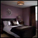 Mor yatak odası fikirleri