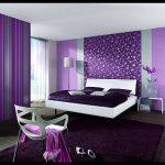 Mor yatak odası modelleri