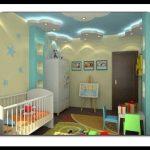 Bebek odası tavan aydınlatma