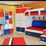 Genç odası için ranza modeli