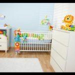 Beyaz bebek odası takımları