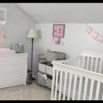 Krem bebek odası takımı