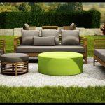 Bahçe için mobilya takımı