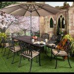 Bahçe yemek masa sandalye takımı