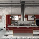 Bordo mutfak dolabı modelleri