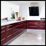 Bordo mutfak mobilyaları