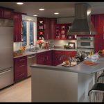 Bordo mutfak tasarımları