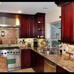 Bordo renkli mutfaklar