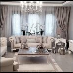 Klasik oturma odası dizaynı