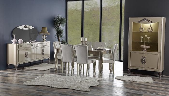 aspendos ipek mobilya yemek odası