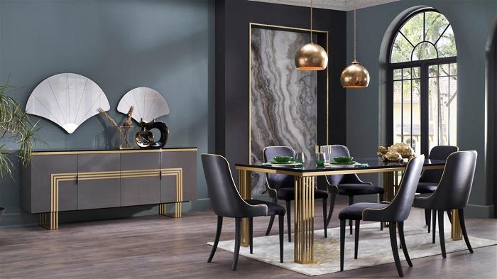 carlino bellona yemek odası takımı