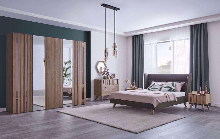 crista kelebek yatak odası