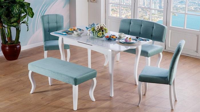iris mondi mutfak masa sandalye takımı