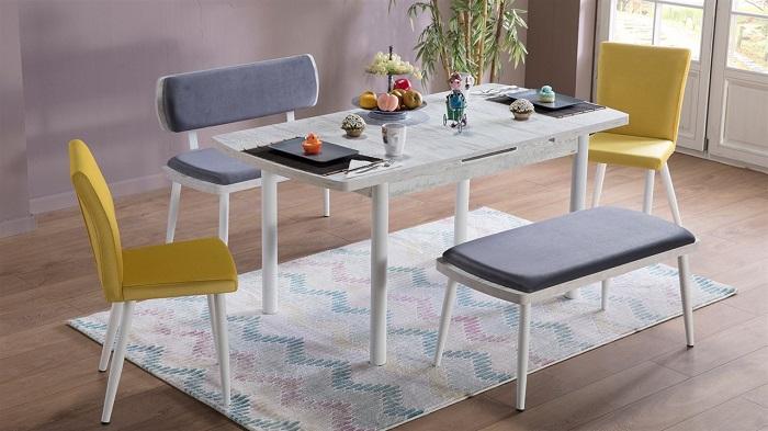 kardelen mondi mutfak masa sandalye takımı