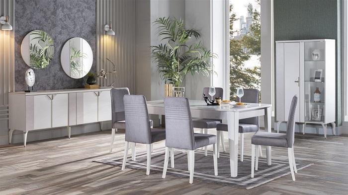 leny bellona yemek odası takımı