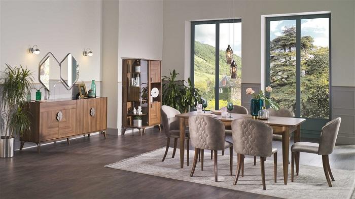 loren bellona yemek odası takımı