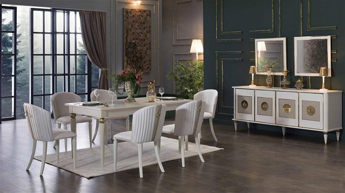mistral bellona yemek odası takımı