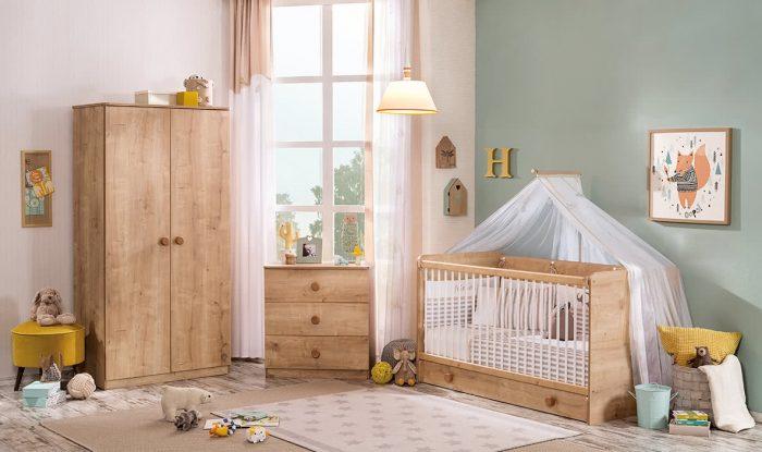 mocha çilek bebek odası
