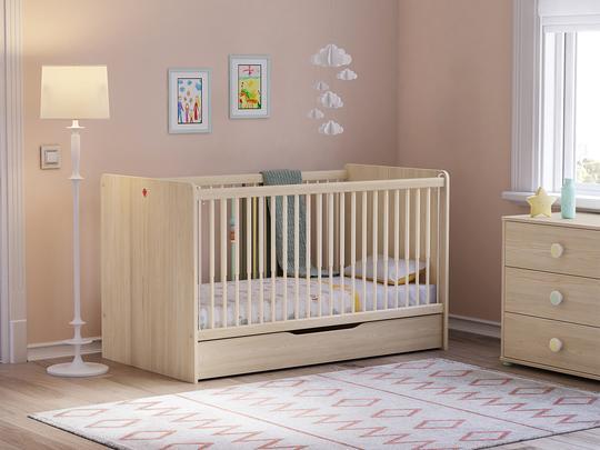 montes çilek bebek odası takımı