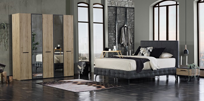 prestige kilim yatak odası