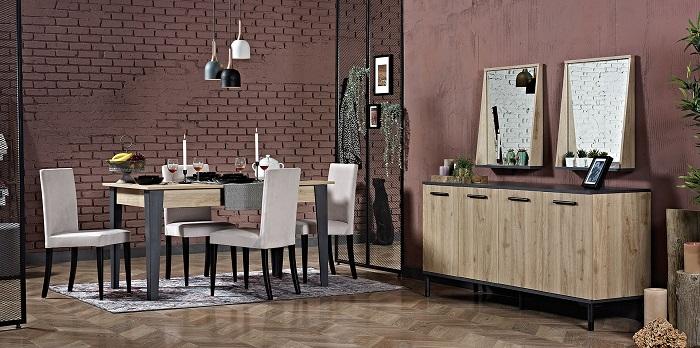prestige kilim yemek odası