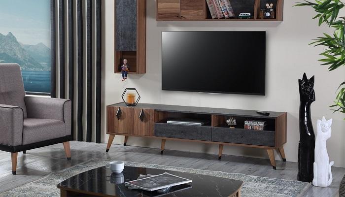 riga ipek mobilya tv duvar ünitesi