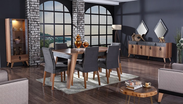 riga ipek mobilya yemek odası