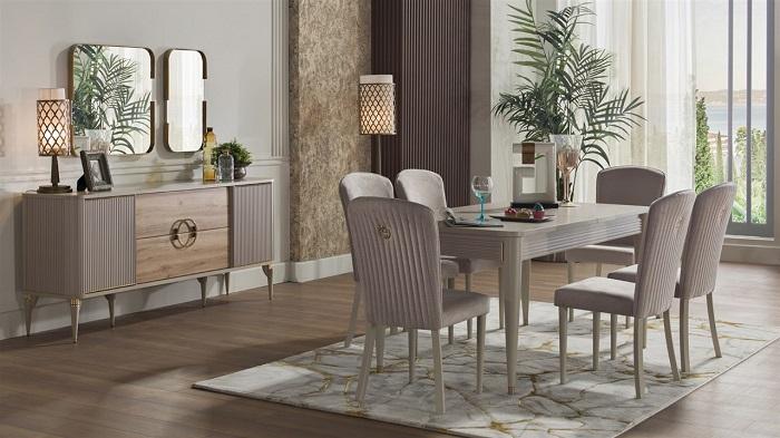 santivo bellona yemek odası takımı