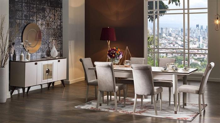 venti bellona yemek odası takımı