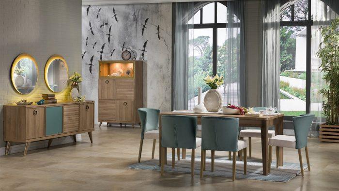 vienza bellona yemek odası takımı