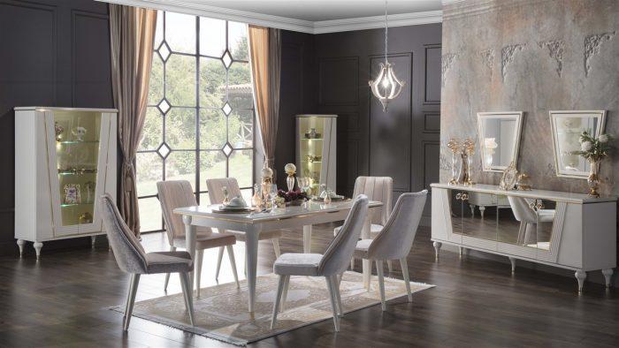 vitella bellona yemek odası takımı