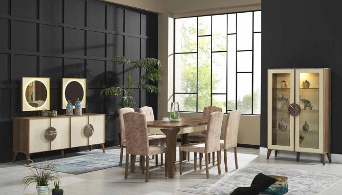 brest ipek mobilya yemek odası takımı