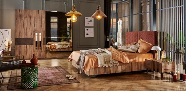 century kilim yatak odası takımı