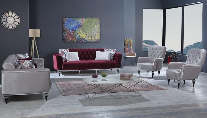 elegante ipek mobilya koltuk takımı
