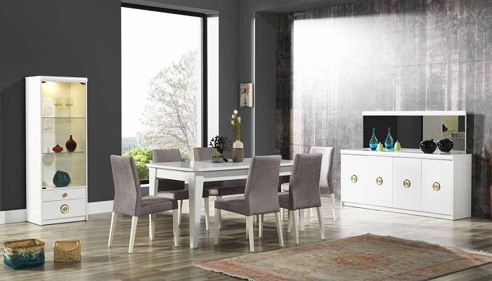 elena ipek mobilya yemek odası takımı