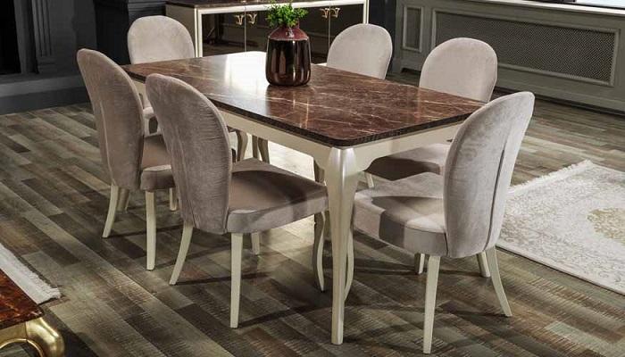 estella ipek mobilya yemek odası takımı