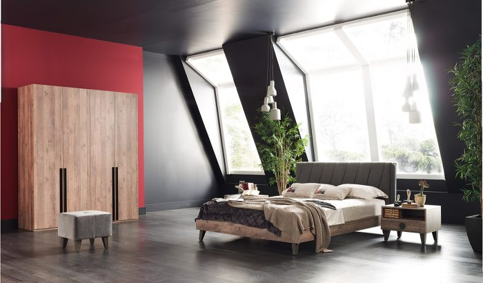 orlando enza home yatak odası
