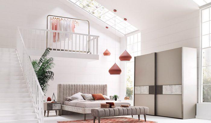 praga enza home yatak odası